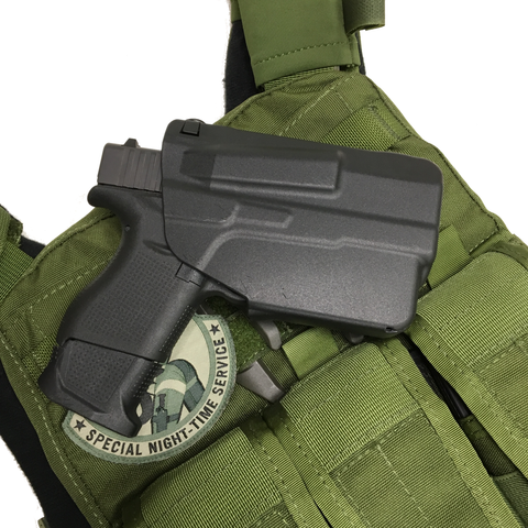 "Safariland 7TS™ ALS® Concealment Holster ""NEW GLOCK 43 w/TLR-6 Carry Light/Laser"" 7371, 7376,7377,7378,7379, Safariland - HolsterOps"
