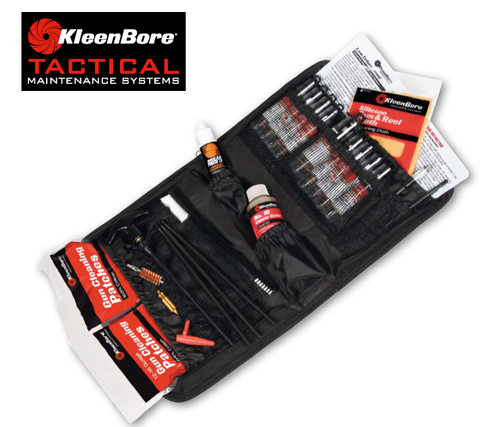 KleenBore Tactical Gun Maintenance System Model TAC100 - Holsterops