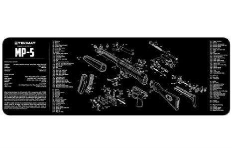 TekMat H&K MP5 Gun Cleaning Mat, HolsterOps - HolsterOps