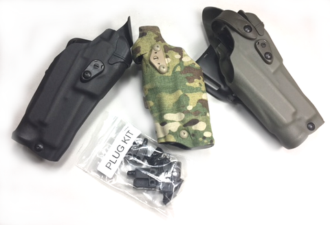 Optic Holster Plug Kit for Threaded Barrels 6354DO & RDS Holsters, Safariland - HolsterOps