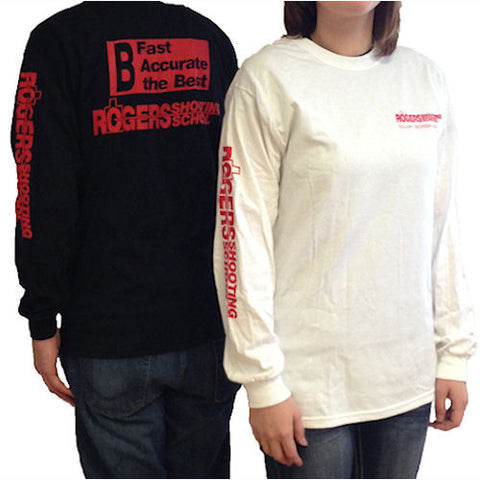 BFCM SPECIAL Rogers Shooting School Long Sleeved T Shirts, Rogers - HolsterOps