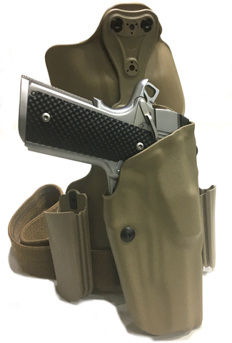 Rogers Recommended Tactical Holster for 1911 Style Handguns, Safariland - HolsterOps