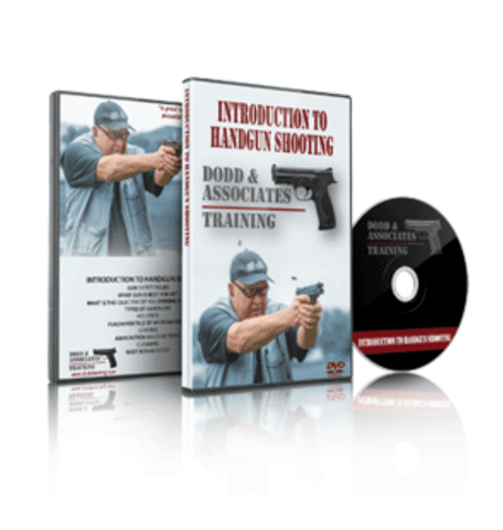 BFCM SPECIAL Introduction to Handgun Shooting DVD by Ronnie Dodd, Rogers - HolsterOps