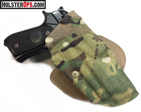 "Safariland Model USN Beretta ALS Low Signature Holster ""MULTICAM""Choose Your Mount, 6371,6376,6377,6378,6379, Safariland - HolsterOps"