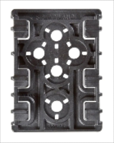 Safariland 6004-35 ELS 35 Equipment Receiver Plate, Safariland - HolsterOps
