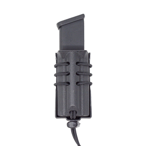 Wilder Tact. Multi Fit Pistol Mag Pouch with ELS 34 Accessory Fork, ELS 34&35, or 744BL Belt Clip, Wilder Tactical - HolsterOps