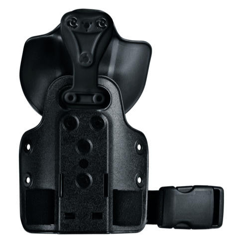 Safariland 6004UFA-SP6 UFA with 568BL Paddle on Single Strap Leg Shroud, Safariland - HolsterOps