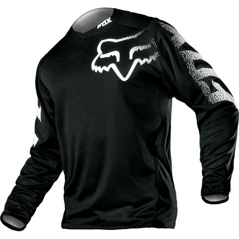 FOX YOUTH BLACKOUT JERSEY BLK/WHT