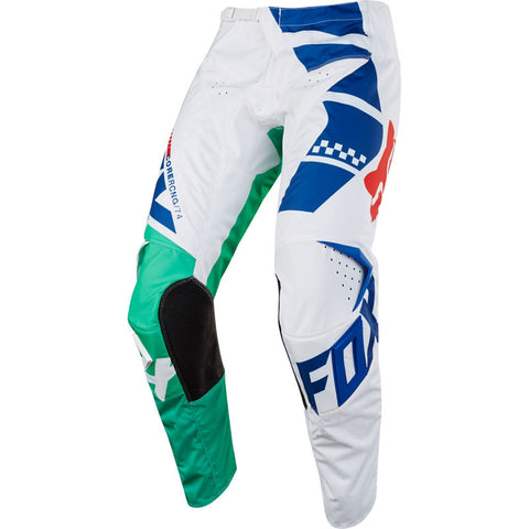 FOX YOUTH 180 SAYAK PANT GRN/WHT