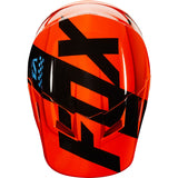 Fox YOUTH V1 MASTAR ORANGE Helmet Free shipping!!!