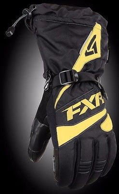 FXR Fuel Glove Black/Yellow Medium Free Shipping!!!!