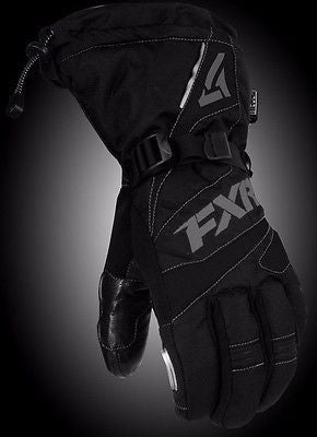 FXR Fuel Glove Black/Charcoal Free Shipping!!!!