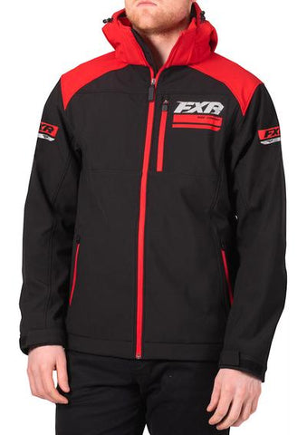 2020 FXR RENEGADE SOFTSHELL JACKET BLACK/RED Free Shipping!!!!!