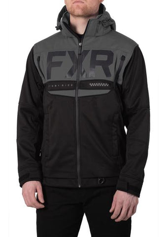 2020 FXR HELIUM RIDE SOFTSHELL JACKET BLACK OPS Free Shipping!!!!!