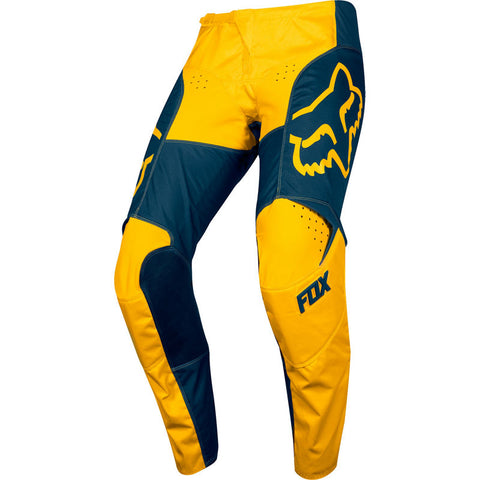 FOX 180 PRZM PANT NVY/YLW