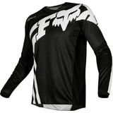 FOX YOUTH 180 COTA JERSEY BLK/WHITE