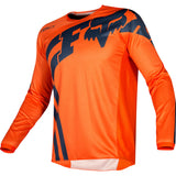 FOX YOUTH 180 COTA JERSEY ORANGE/NAVY