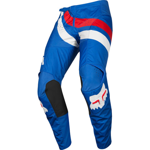 FOX YOUTH 180 COTA PANT BLU/RED