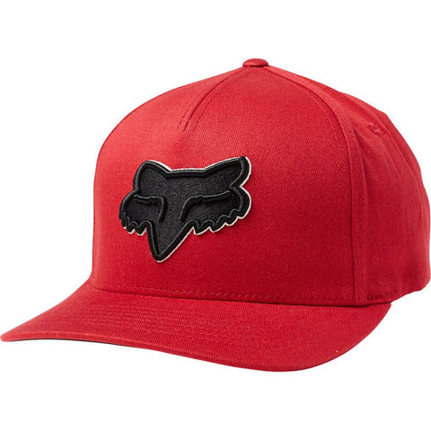 FOX EPICYCLE FLEXFIT HAT RED