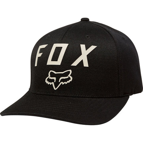 FOX NUMBER 2 FLEXFIT HAT BLK/DARK KHAKI