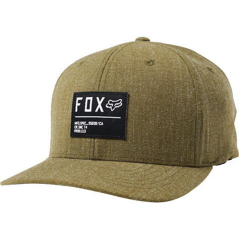 FOX NON STOP Flexfit Hat OLIVE GREEN