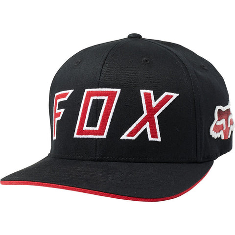 FOX SCRAMBLE FLEXFIT HAT BLK