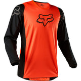 FOX YOTH 180 PRIX JERSEY FLO ORANGE