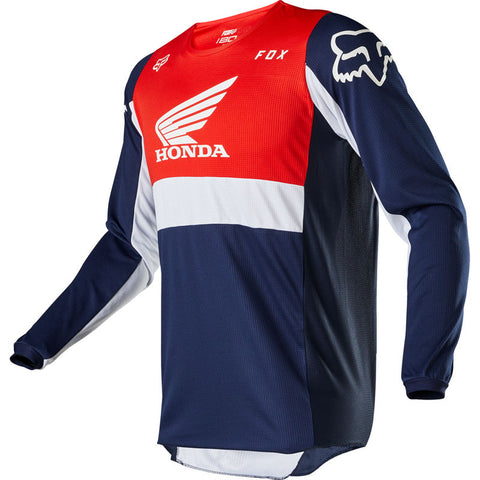 FOX 180 HONDA JERSEY NAVY/RED