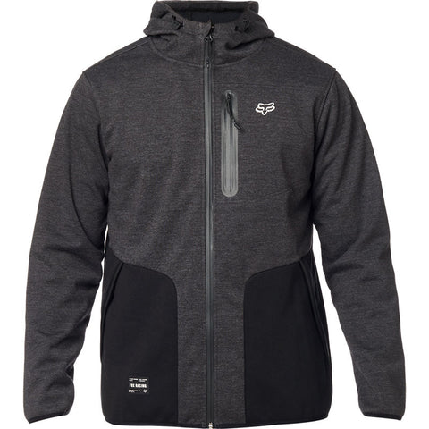 FOX BARRICADE SOFTSHELL FLEECE HEATHER BLACK FREE SHIPPING!!!!