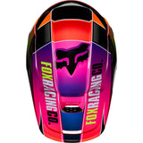 Fox V1 YORR MULTI COLOR HELMET  Free shipping!!!