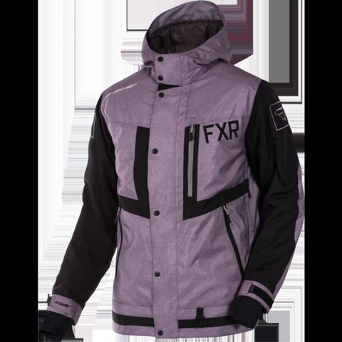 FXR Caliber Jacket Grey Heather/Black Free Shipping!!!!!