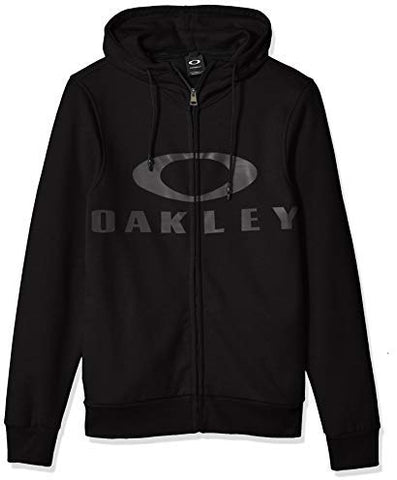 Oakley MEN'S Bark FZ Hoodie Blackout