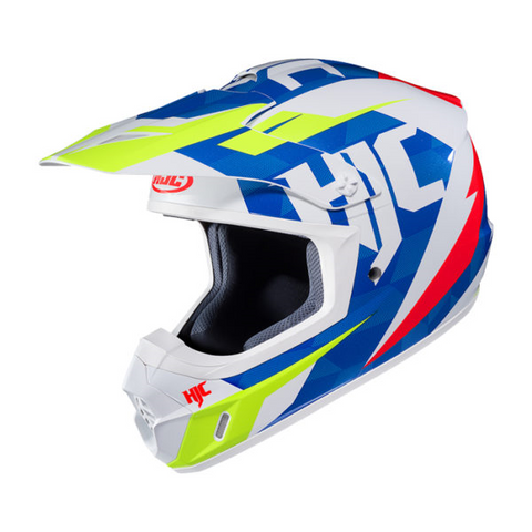 HJC CS-MX II DAKOTA MC23 HI-VIS/ BLUE/WHITE/RED FREE SHIPPING!!!