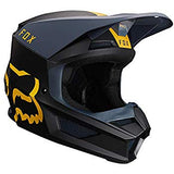 Fox V1 MATA Helmet NAVY/YELLOW  Free shipping!!!