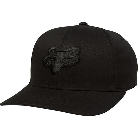FOX  YOUTH LEGACY FLEXFIT HAT BLK/BLK