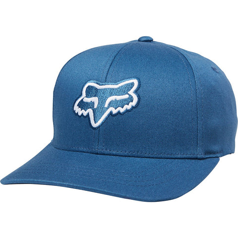 FOX  YOUTH LEGACY FLEXFIT HAT DST BLUE