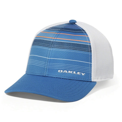 OAKLEY SILICON BARK TRUCKER 2.0 HAT BLUE