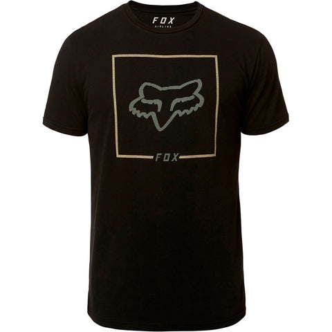 FOX MEN'S CHAPPED SS AIRLINE TEE BLACK