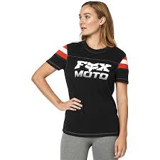 FOX WOMEN'S CHARGER SS KNIT TEE BLACK