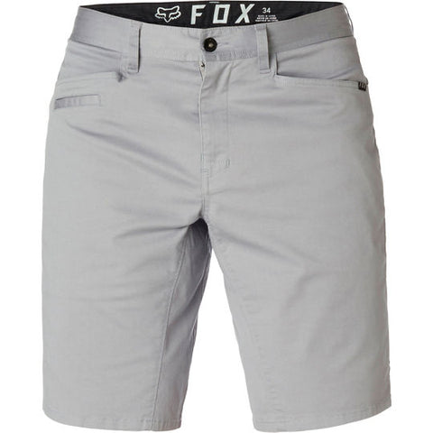 FOX MEN'S STRETCH CHINO SHORT STEEL GREY