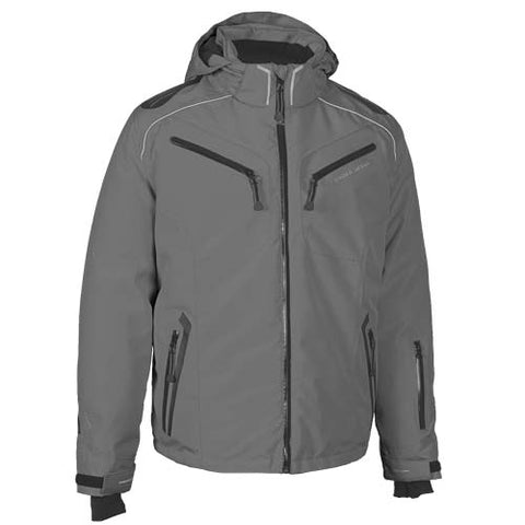 Choko MENS STEALTH NYLON JACKET DARK GREY