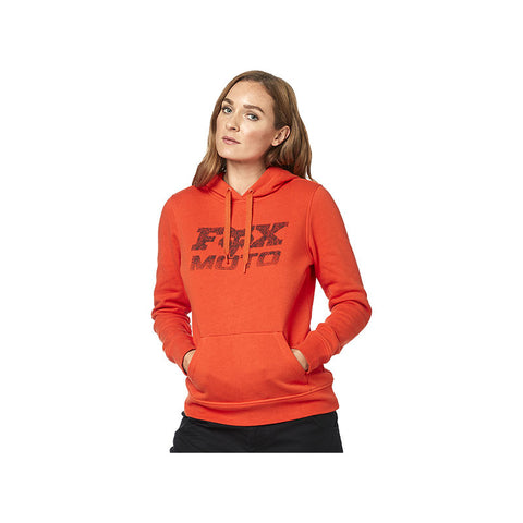 FOX WOMEN'S DIE HARD PULLOVER FLEECE ATOMIC ORANGE