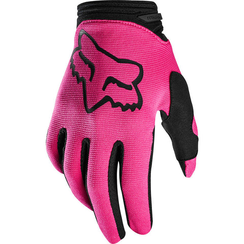 FOX YOUTH GIRLS DIRTPAW PRIX GLOVE PINK