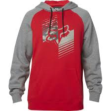 FOX MEN'S DIRT BURN BF PULLOVER FLEECE RED