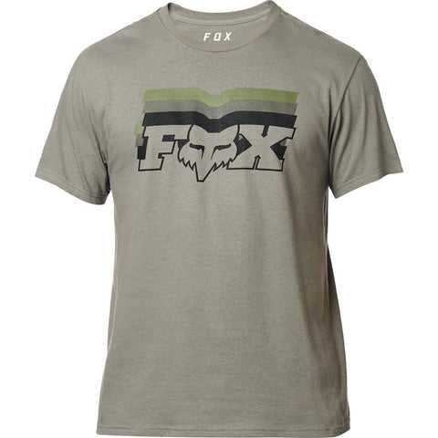 FOX MEN'S FAR OUT SS TEE PEWTER
