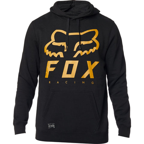 FOX MEN'S HERITAGE FORGER PULLOVER FLEECE BLACK