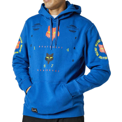 FOX MAWLR PULLOVER FLEECE ROYAL BLUE