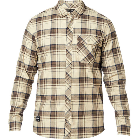 FOX MEN'S GAMUT STRETCH FLANNEL SAND