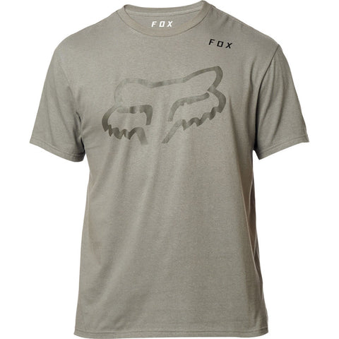 FOX MEN'S GRIZZLY SS TEE PEWTER