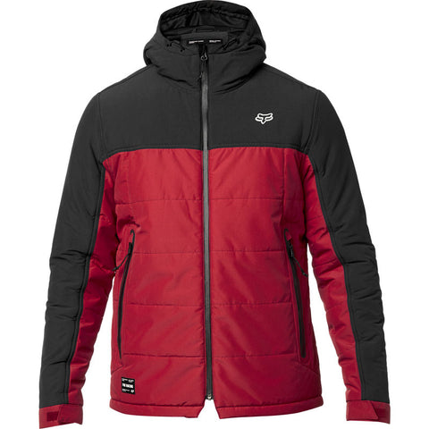 FOX MEN'S HARRISON JACKET BLACK/RED